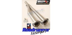Milltek Sport - Audi TT quattro Sport Coupe 240ps (2005 - 2007) Cat Replacement Pipes SSXAU340