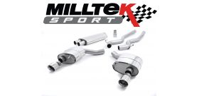 Milltek Sport - Ford Mustang 2.3 Ecoboost (Fastback) 2015 on Cat Back Exhaust System Resonated SSXFD173