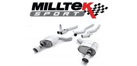 Milltek Sport - Ford Mustang 2.3 Ecoboost (Fastback) 2015 on Cat Back Exhaust System Non Resonated SSXFD175