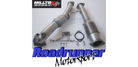 """Milltek Sport - Ford Focus MK2 ST 225 (2005 - 2010) Large Bore Downpipe and Hi Flow Sports Race Cat 3"""" Exhaust SSXFD164"""