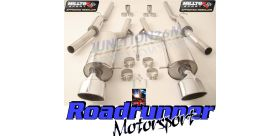 Milltek Sport - Audi RS6 C5 V8 BI-TURBO SALOON & AVANT Cat-back Exhaust SSXAU354