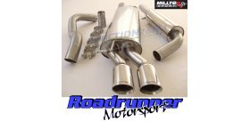 Milltek Sport - Seat LEON 1.8T SPORT AND CUPRA 180PS Cat-back Exhaust SSXVW053