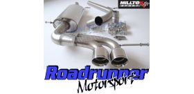 Milltek Sport - Seat Ibiza Cupra / Bocanegra 1.4 TSi 180PS 2010 - 2015 Cat Back Exhaust System Non Resonated SSXSE136