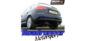 Milltek Sport Audi A3 2.0T FSI QUATTRO SPORTBACK 2004 to 2012 Cat back Exhaust System Non Resonated SSXVW046