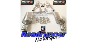 Milltek Sport - Audi S4 4.2 V8 QUATTRO B6 SALOON AVANT AND CABRIOLET Cat-back Exhaust SSXAU296