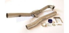 Milltek Sport - Audi S3 2.0 T QUATTRO SPORTBACK 8P Large-bore Downpipe and De-cat SSXAU284