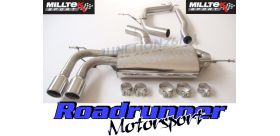 Milltek Sport - Seat LEON FR 2.0 TDI 170PS DPF Cat-back Exhaust SSXVW295
