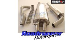 Milltek Sport - Volkswagen GOLF MK4 1.9 TDI PD AND NON-PD Cat-back Exhaust SSXVW056