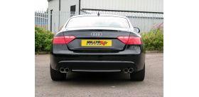 Milltek Sport - Audi A5 CABRIOLET 3.0 TDI (DPF) QUATTRO Cat-back Exhaust SSXAU274