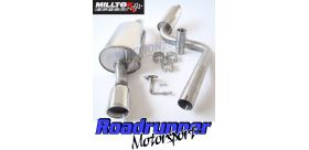 Milltek Sport - Ford FIESTA MK6 ST 150 Cat-back Exhaust SSXFD019