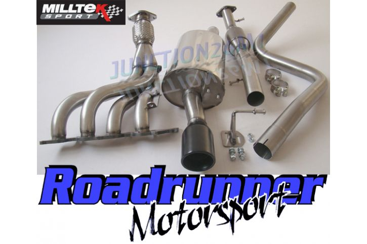 Ford Fiesta St Mk6 Parts >> Milltek Sport - Ford FIESTA MK6 ST 150 Full System Exhaust (including Hi-Flow Sports Cat ...