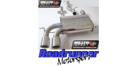Milltek Sport - Audi S3 2.0 T QUATTRO 3-DOOR 8P Cat-back Exhaust SSXAU123