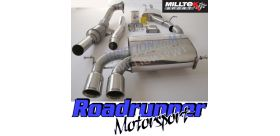 Milltek Sport - Audi S3 2.0 T QUATTRO 3-DOOR 8P Turbo-back Exhaust including Hi-Flow Sports Cat SSXAU127