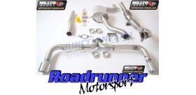 Milltek Sport - Volkswagen SCIROCCO R Turbo-back Exhaust including Hi-Flow Sports Cat SSXVW152