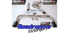 Milltek Sport - Volkswagen SCIROCCO R Cat-back Exhaust SSXVW142