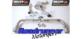 Milltek Sport - Volkswagen SCIROCCO R Cat-back Exhaust SSXVW141