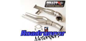 Milltek Sport - Audi RS3 SPORTBACK S TRONIC (8P) Primary Catalyst Bypass Pipe and Turbo Elbow SSXAU344