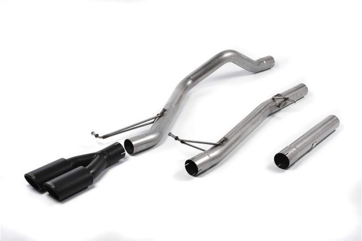 Milltek Sport - VW TRANSPORTER  CARAVELLE T6 LWB 180PS 2.0-Litre BiTDI 2WD and 4MOTION Particulate Filter-back Exhaust SSXVW286