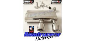 Milltek Sport - Volkswagen GOLF MK5 R32 3.2 V6 Cat-back Exhaust SSXVW133