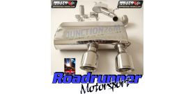 Milltek Sport - Volkswagen GOLF MK5 R32 3.2 V6 Cat-back Exhaust SSXVW134