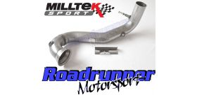 Milltek Sport - Mercedes A-Class A45 AMG 2.0 Turbo 2012-2018 Large-bore Downpipe and De-cat SSXMZ117