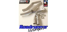 Milltek Sport - Bmw 1 SERIES 120D M SPORT COUPE (E82) Cat-back Exhaust SSXBM951