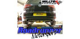 Milltek Sport - Volkswagen GOLF MK7 GTD 2.0 TDI 185PS Cat-back Exhaust SSXVW247