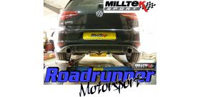 Milltek Sport - Volkswagen GOLF MK7 GTD 2.0 TDI 185PS Cat-back Exhaust SSXVW246