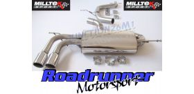 Milltek Sport - Audi A3 2.0T FSi 2WD (3 door) 2003-2012 Cat-back Exhaust SSXVW265