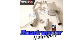 Milltek Sport - Volkswagen TRANSPORTER \ CARAVELLE T5 SWB 2.5 TDI (130PS & 174PS) 2WD AND 4MOTION Cat-back Exhaust SSXVW201