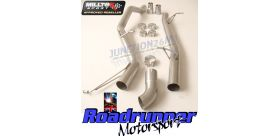 Milltek Sport - Volkswagen TRANSPORTER \ CARAVELLE T5 SWB 180PS 2.0-LITRE BITDI 2WD AND 4MOTION Cat-back Exhaust SSXVW200
