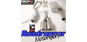 Milltek Sport - Volkswagen TRANSPORTER \ CARAVELLE T5 SWB 2.5 TDI (130PS & 174PS) 2WD AND 4MOTION Cat-back Exhaust SSXVW198