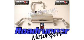 Milltek Sport - Audi TT MK2 2.0 TFSI 2WD Cat-back Exhaust SSXAU143