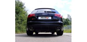 Milltek Sport - Audi RS6 C6 5.0 V10 BITURBO QUATTRO Cat-back Exhaust SSXAU213