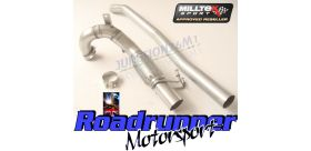 Milltek Sport - Volkswagen GOLF MK7 GTI (INCLUDING GTI PERFORMANCE PACK MODELS) Large-bore Downpipe and De-cat SSXVW262