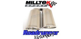 Milltek Sport - Volkswagen CADDY 2.0TDI 140PS 2WD MANUAL AND DSG (NOT MAXI MODELS) Particulate Filter-back Exhaust SSXVW300