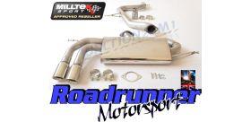 Milltek Sport - Volkswagen GOLF MK5 GTI 2.0T FSI Cat-back Exhaust SSXVW281