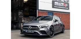 Milltek Sport - Mercedes A-Class A35 AMG 2.0 Turbo GPF back Exhaust SSXMZ130