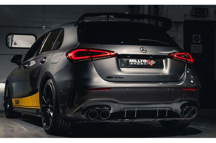 Milltek Sport udstødning til Mercedes CLA AMG35