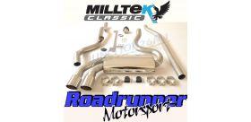 Milltek Sport - Audi COUPE UR QUATTRO 20V TURBO Downpipe-back Exhaust MCXAU108