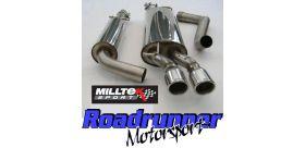 Milltek Sport - Volkswagen BORA 1.9 TDI 130 / 150 Cat-back Exhaust SSXVW032