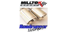 Milltek Sport - Volkswagen GOLF MK5 GTI 2.0T FSI Turbo-back Exhaust including Hi-Flow Sports Cat SSXVW277