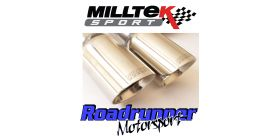 Milltek Sport - Volkswagen GOLF MK5 GTI EDITION 30 2.0T FSI 230PS Turbo-back Exhaust including Hi-Flow Sports Cat SSXVW277