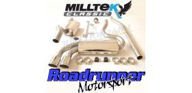 Milltek Sport - Audi COUPE UR QUATTRO 20V TURBO Downpipe-back Exhaust MCXAU107