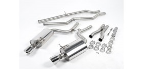 Milltek Sport - Audi S4 4.2 V8 QUATTRO B6 SALOON AVANT AND CABRIOLET Cat-back Exhaust SSXAU295