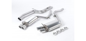 Milltek Sport - Audi S5 COUPE 4.2 V8 QUATTRO (MANUAL ONLY) Cat-back Exhaust SSXAU190