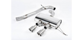 Milltek Sport - Volkswagen GOLF MK6 R 2.0 TSI 270PS Cat-back Exhaust SSXVW219